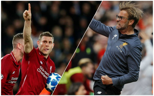 James Milner picks his favourite ever European night