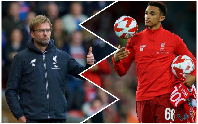 Klopp offers positive latest update on Trent's fitness