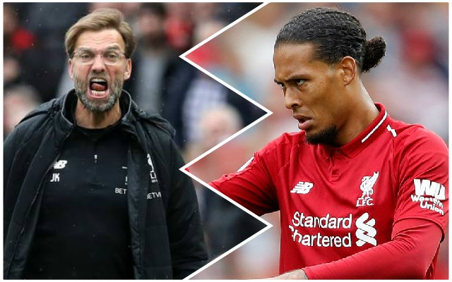 Van Dijk not happy with anxious Anfield: 'It's not necessary'