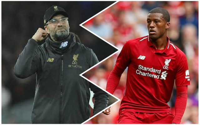 Gini Wijnaldum's sensible analysis of Leicester City game is spot on