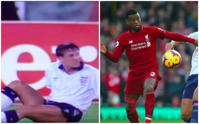 Wijnaldum almost had Gary Lineker moment v Bournemouth…