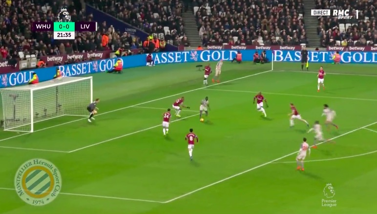 (Video) Lallana's feet are magic and Sadio bags opener v West Ham