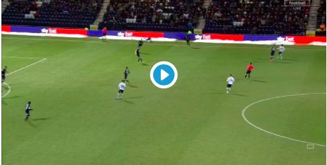 Watch: Harry Wilson hits the woodwork twice with long-range efforts for Derby