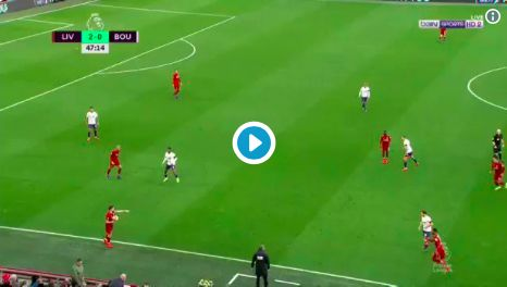 (Video) Salah finishes glorious team move; Keita & Firmino outstanding