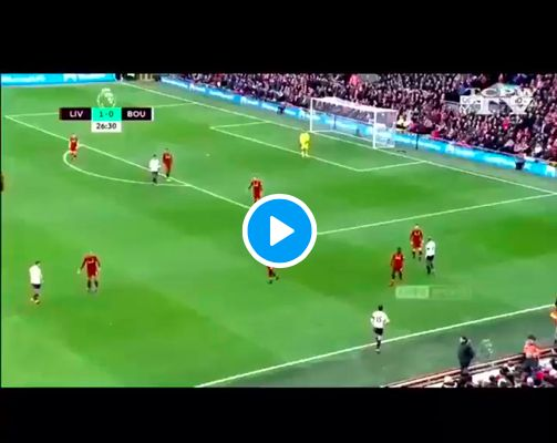 (Video) The exquisite Joel Matip pass you may have missed vs. Bournemouth