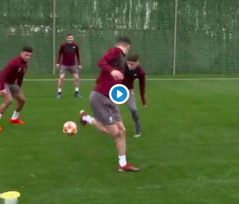 (Video) Oxlade-Chamberlain back in a rondo is everything you need to watch today…
