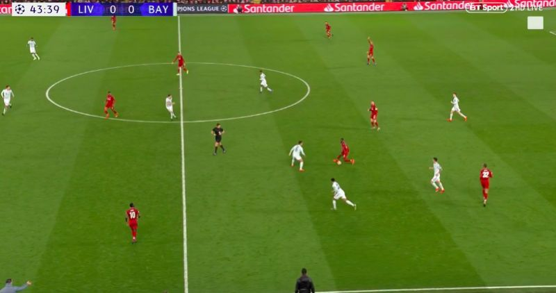 (Video) Keita leaves two Bayern midfielders for dead with two pieces of skill