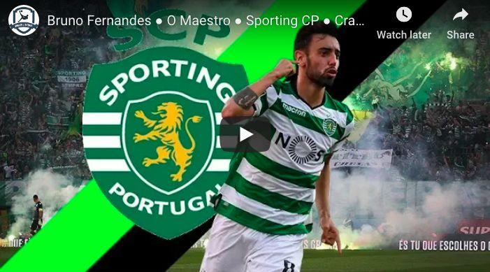 (Video) The best of rumoured LFC target Bruno Fernandes