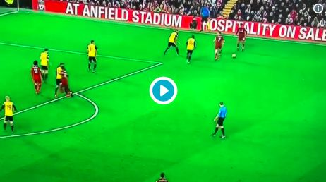 (Video) Sadio Mane heads in the opener after sublime Alexander-Arnold cross