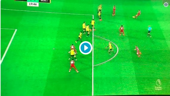 (Video) Jaw-Dropping: Mane chips GK with Back-Heel and LFC fans go mental