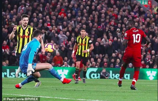 Ben Foster says he 'can't believe' Sadio Mane's goal on social media