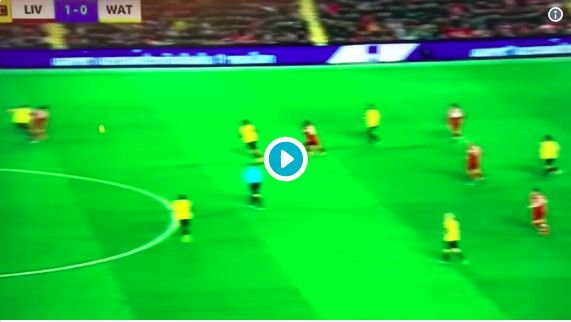 (Video) The pace Mo Salah showed in buildup to LFC's 2nd is electrifying