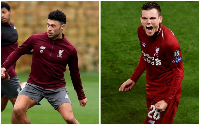 'It's embarrassing' – Oxlade-Chamberlain takes dig at Robertson after first training session back