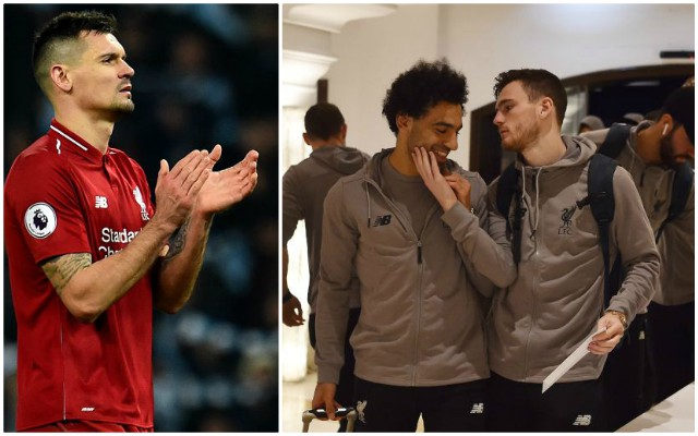 Dejan Lovren responds to Salah & Robertson bromance… he's not happy
