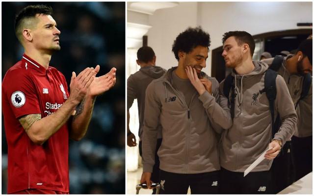 Dejan Lovren responds to Salah & Robertson bromance… he's not happy