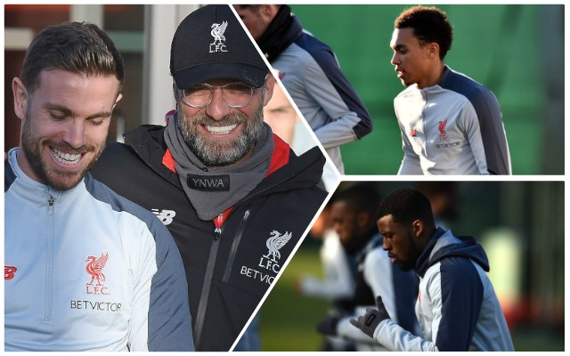 Pre-Bournemouth update on Alexander-Arnold, Henderson & Wijnaldum injuries