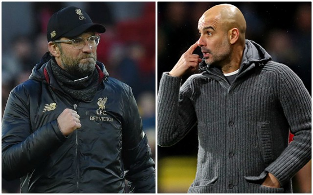 Klopp hits back at Pep with tactical foul jibe ahead of Sunday's Anfield clash
