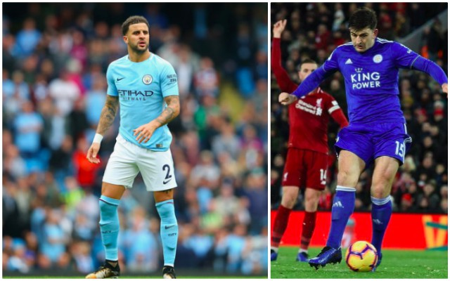 Kyle Walker joked about Liverpool on Twitter before deleting it
