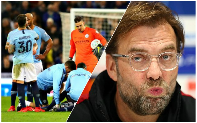 Potential LFC boost as another key Man City player misses training