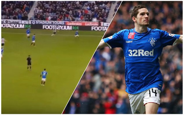 (Video) Watch Ryan Kent's classy finish for Steven Gerrard's Rangers