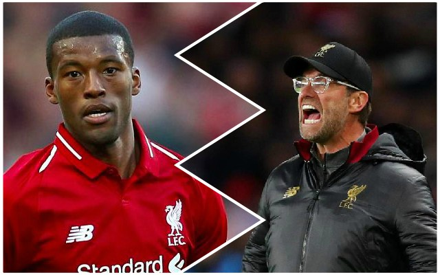 Wijnaldum sets bold target for the rest of the season