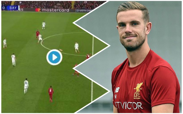 (Video) Hendo turns into Xabi Alonso with sensational through ball
