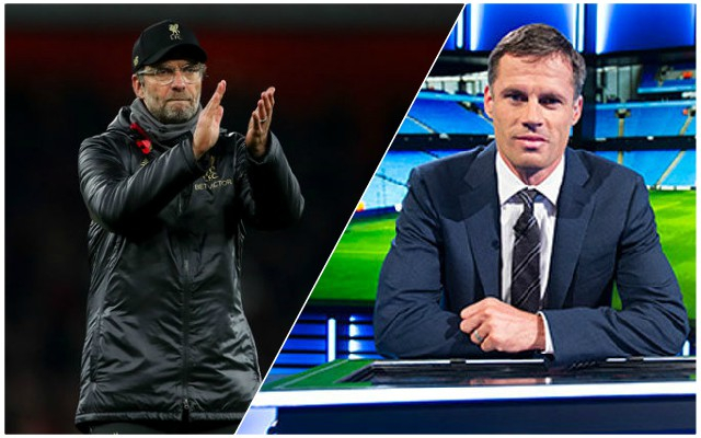 Carra makes a great point after Manchester United frustration