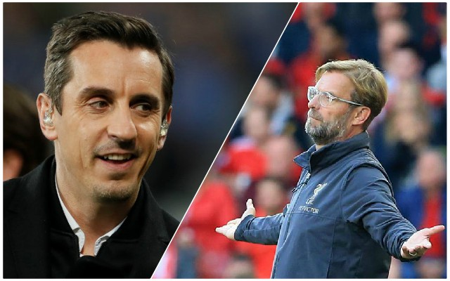 Neville sends LFC warning as he makes puzzling prediction about the title race