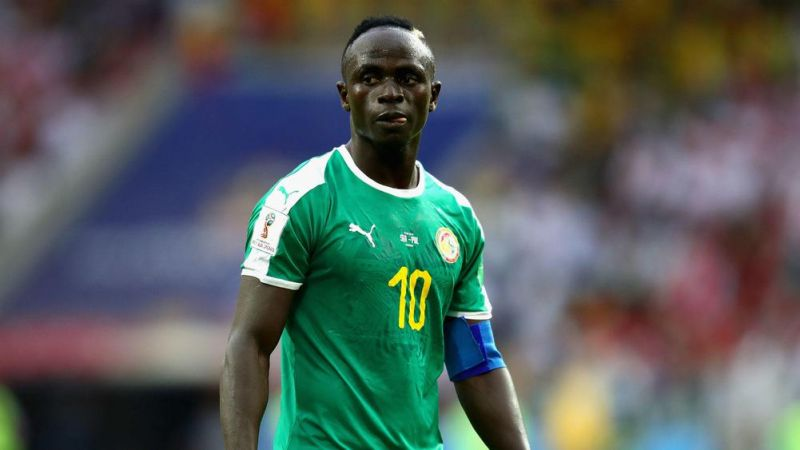 Sadio Mane taken off early for Senegal, but only as a precaution