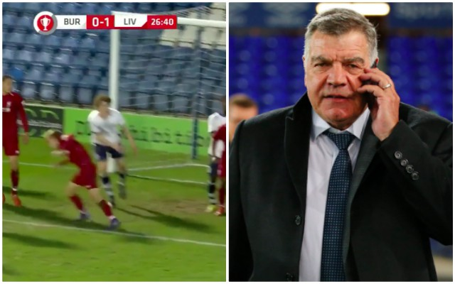 (Video) Big Sam's grandson elbows LFC player in 5-1 loss