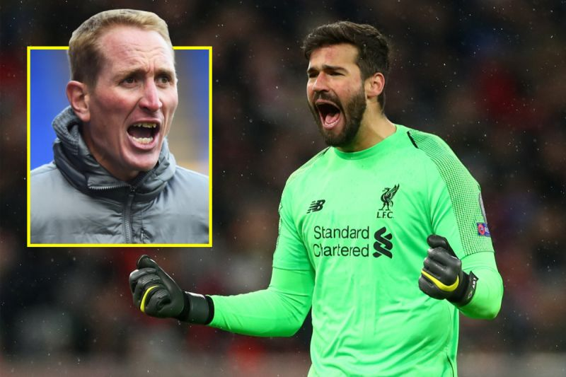 'Wow…' Former LFC ace went to Melwood and was 'purring when I got home' because of Alisson