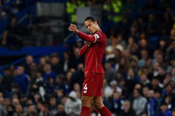 Virgil van Dijk excited, not nervous, for Champions League final
