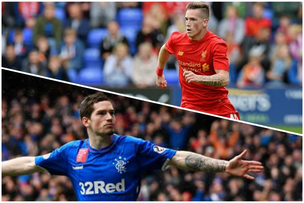 Ryan Kent suggests Liverpool are to blame for his slow start at Rangers