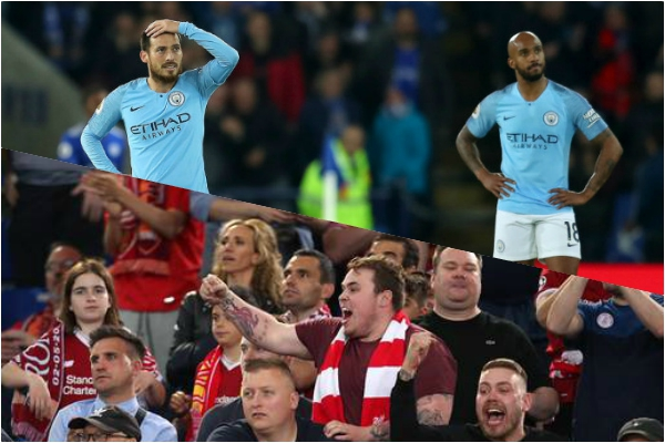 Liverpool fans call for Man City points deduction