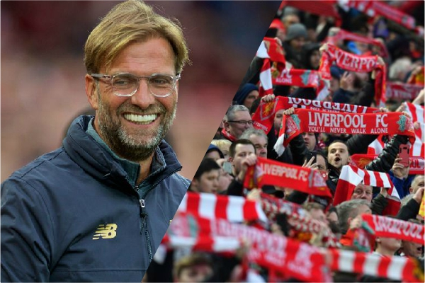 Jürgen Klopp tells Reds fans what he wants them not to do…