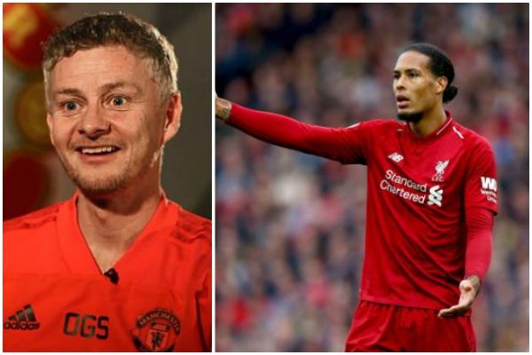 Solksjaer jokes he'll make Liverpool man homeless