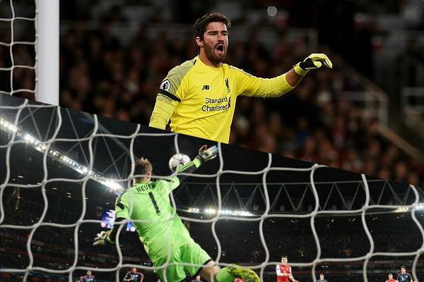 Alisson on 'dream' comparisons to Manuel Neuer, ahead of crunch CL clash