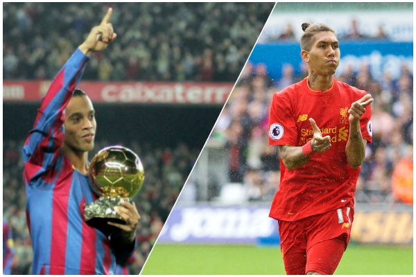 Firmino on his position, Ronaldinho & ambition to 'be the best footballer in the world'
