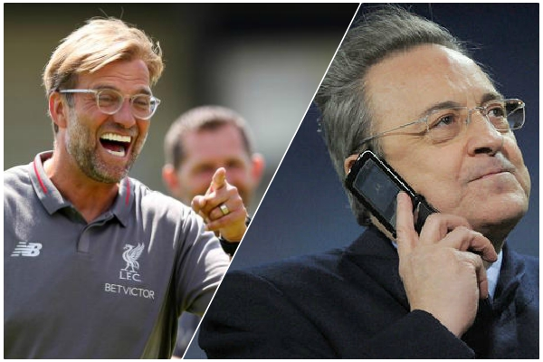 Real Madrid have cheek to shortlist Jurgen Klopp for next manager