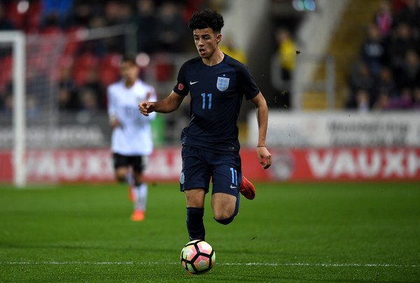 Curtis Jones tears it up for England U18s in Dubai