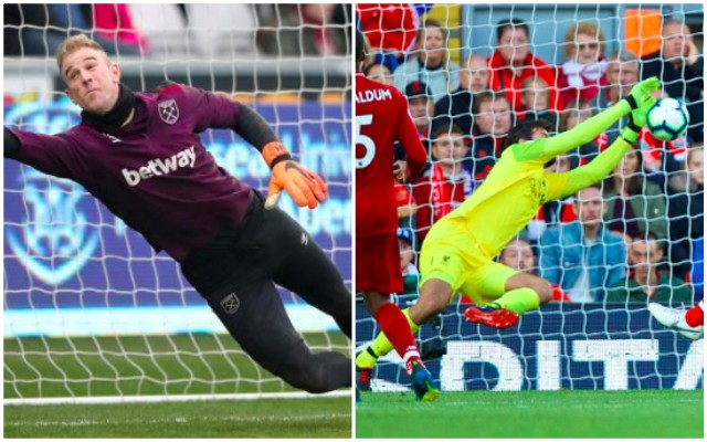 Liverpool fan posts mad Alisson/Joe Hart stat…