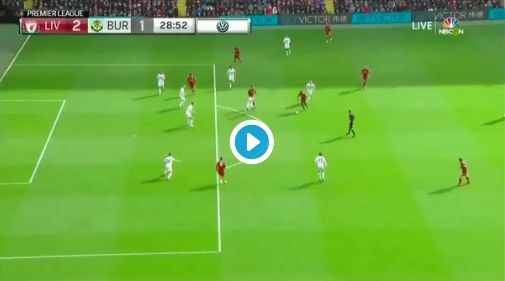 (Video) Mane bags world-class curler after Lallana pressing madness