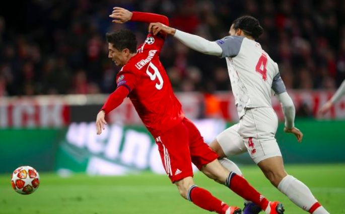 Lewandowski reacts to Van Dijk pocketing: 'I was alone,' 'I am angry'