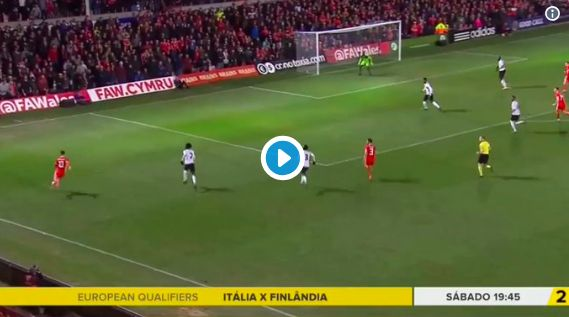(Video) Ben Woodburn scored this last minute goal for Wales last night…