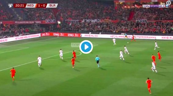 (Video) Wijnaldum's goal for Netherlands shows pure no.8 instincts