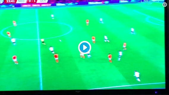 (Video) Rival fans have audacity to call this Gnabry worldy a Van Dijk mistake