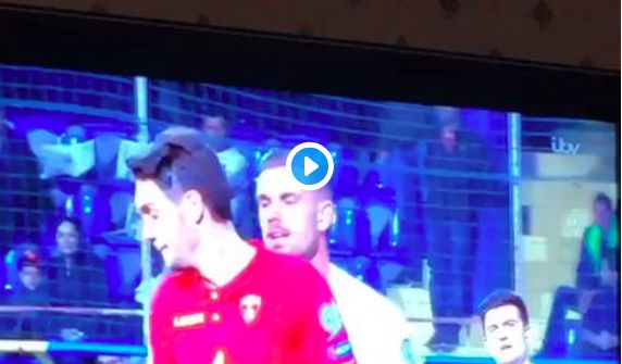 (Video) What Hendo said to Montenegro ace during full-time scuffle