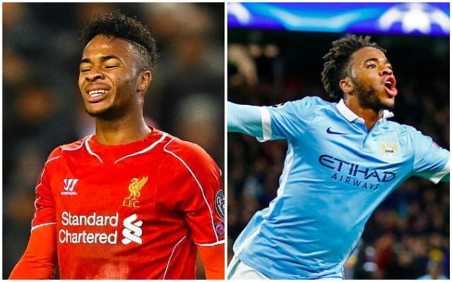 Sterling blames Reds' fans for 2014 Premier League title collapse