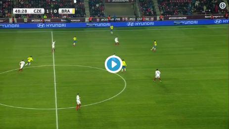 (Video) Firmino scores opportunistic goal for Brazil vs. Czech