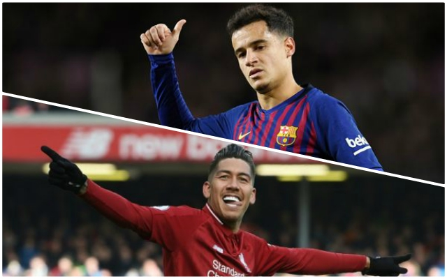 Brazilian bromance lives on; Coutinho congratulates Firmino after Burnley